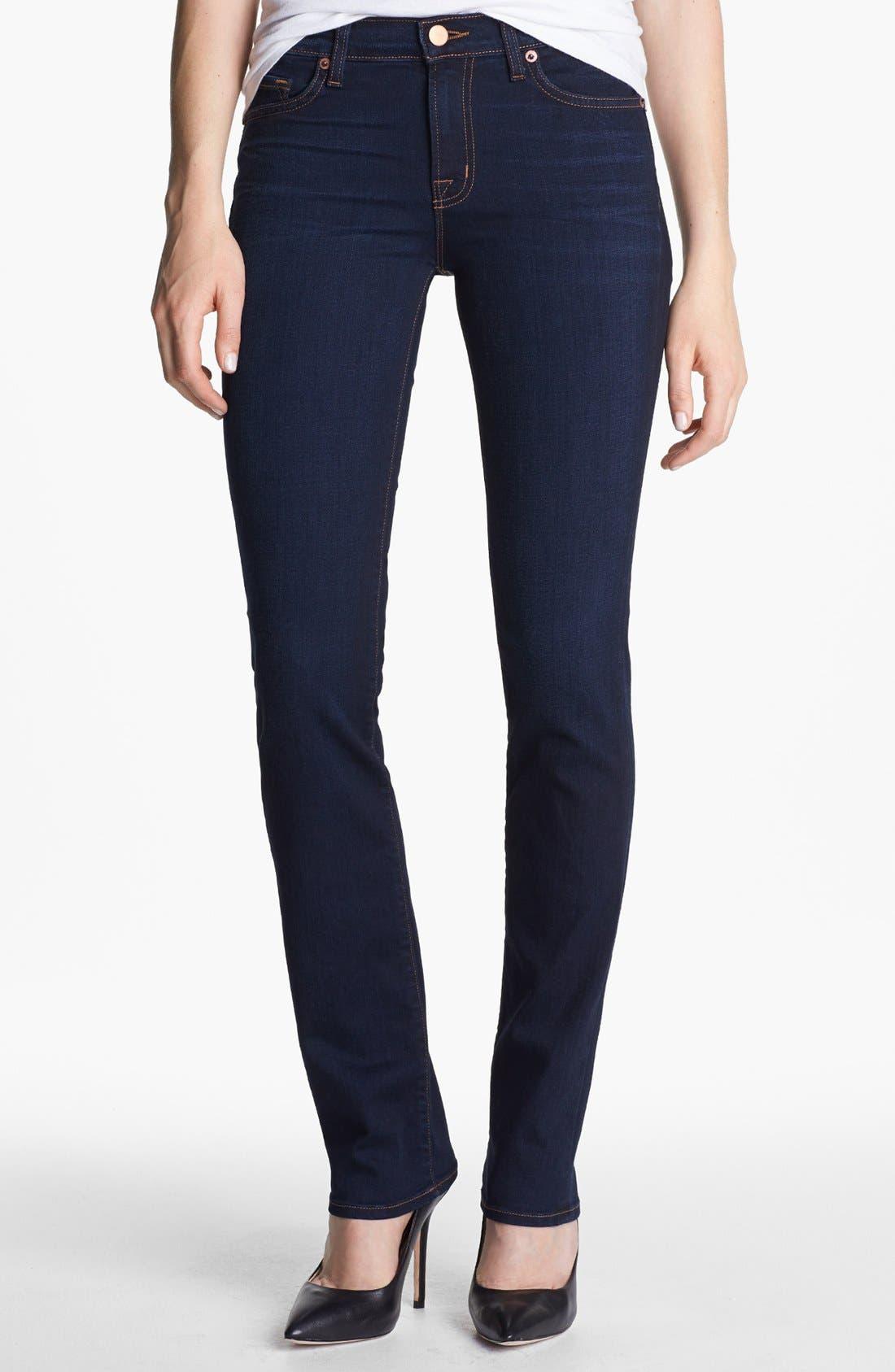 Main Image - J Brand '814' Mid-Rise Cigarette Leg Jeans (Ignite)