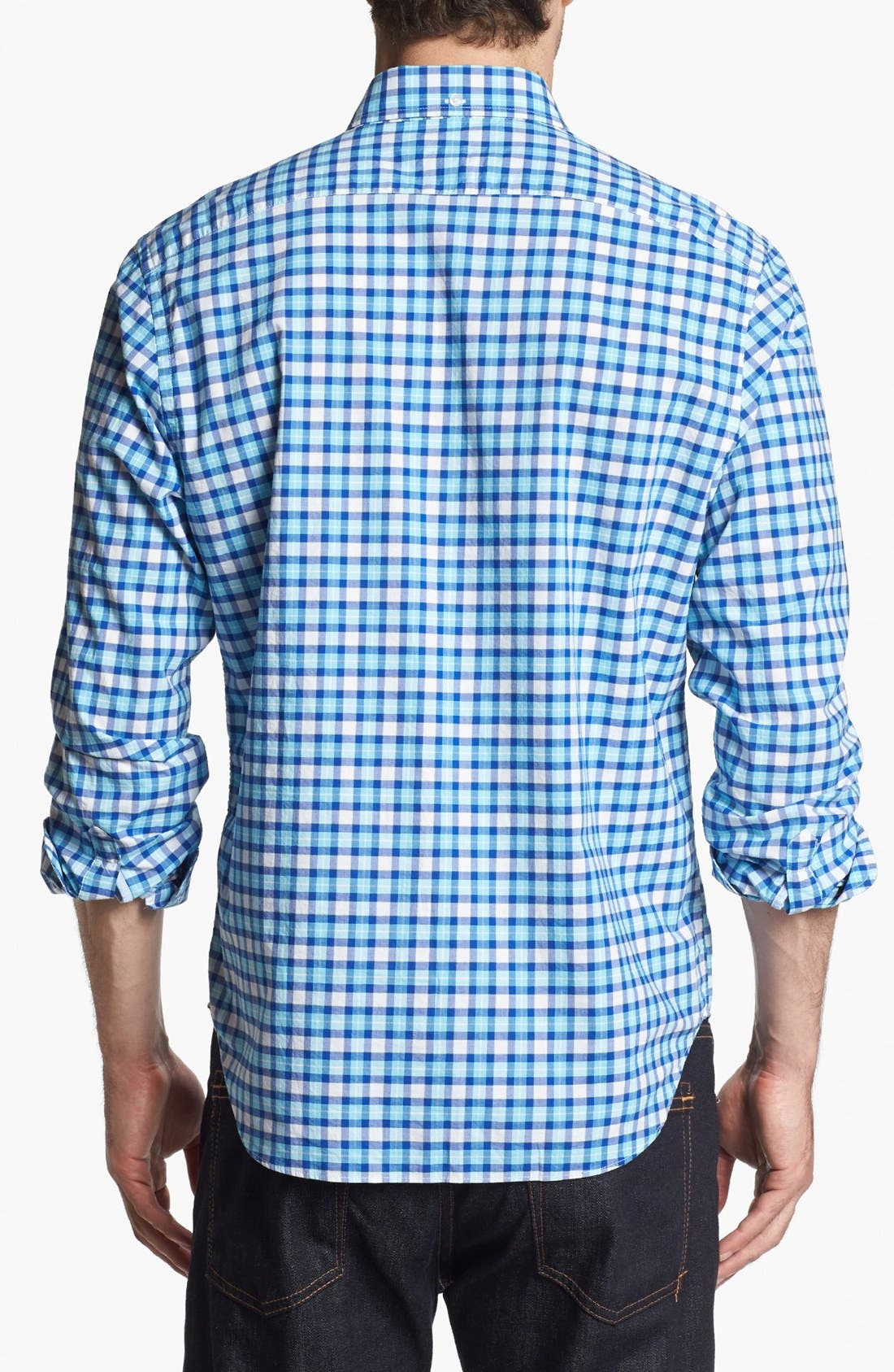 Alternate Image 2  - Bonobos Plaid Slim Fit Sport Shirt