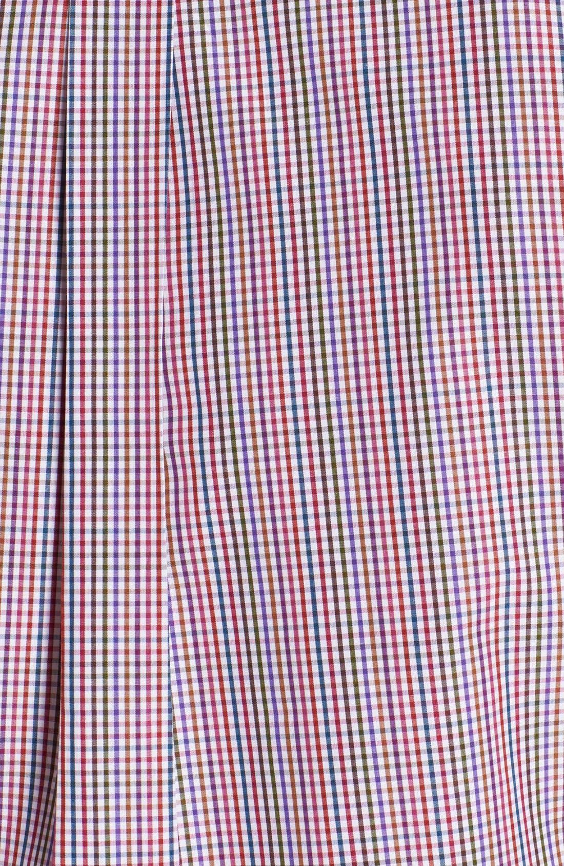 Alternate Image 3  - Peter Millar Regular Fit Sport Shirt (Tall)