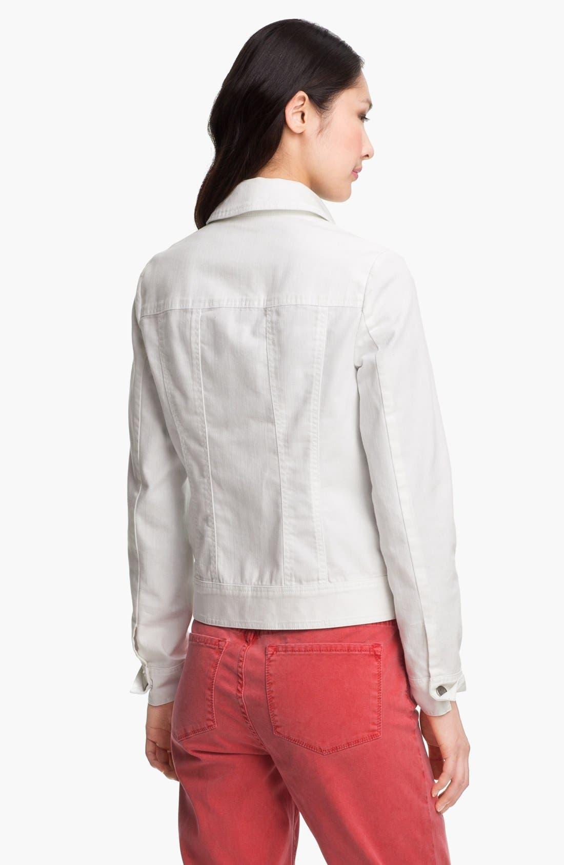 Alternate Image 2  - Amber Sun Modern Denim Jacket