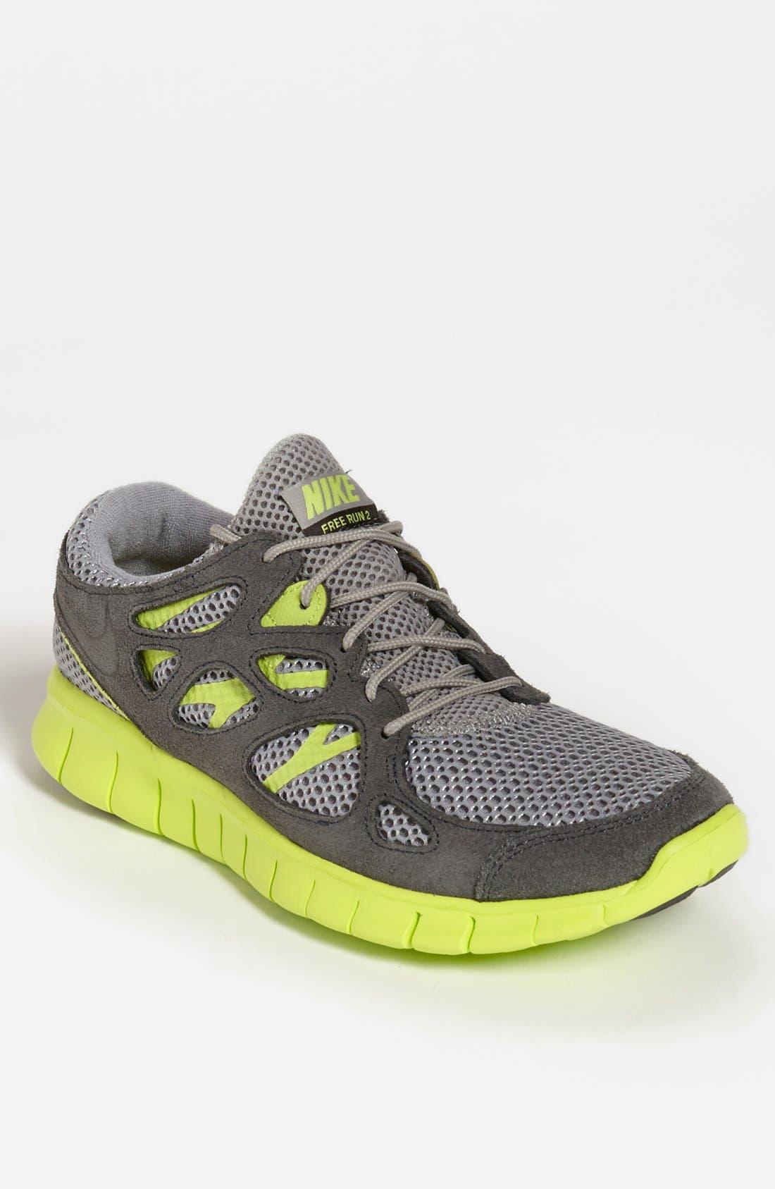 Alternate Image 1 Selected - Nike 'Free Run+ 2 EXT' Running Shoe (Men)
