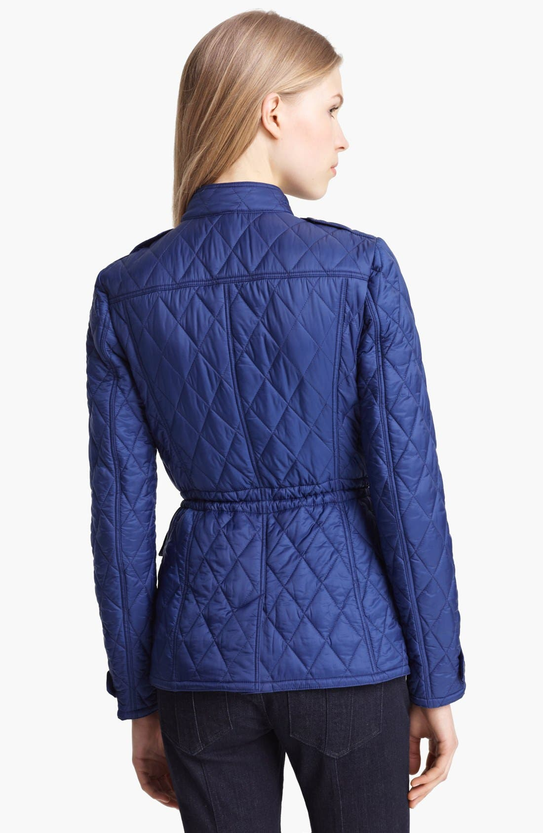 Alternate Image 2  - Burberry Brit 'Ravenfield' Quilted Jacket