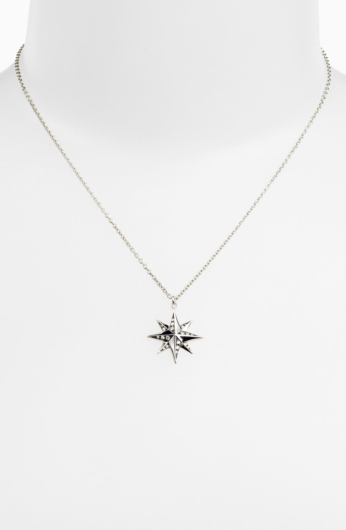 Alternate Image 1 Selected - Kwiat 'Mollie Faith' Star Pendant Necklace