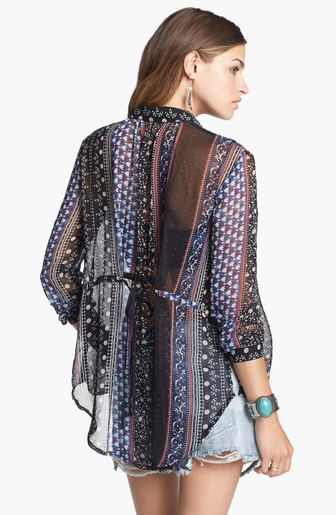 Alternate Image 2  - Free People 'Moonlight Mile' Top