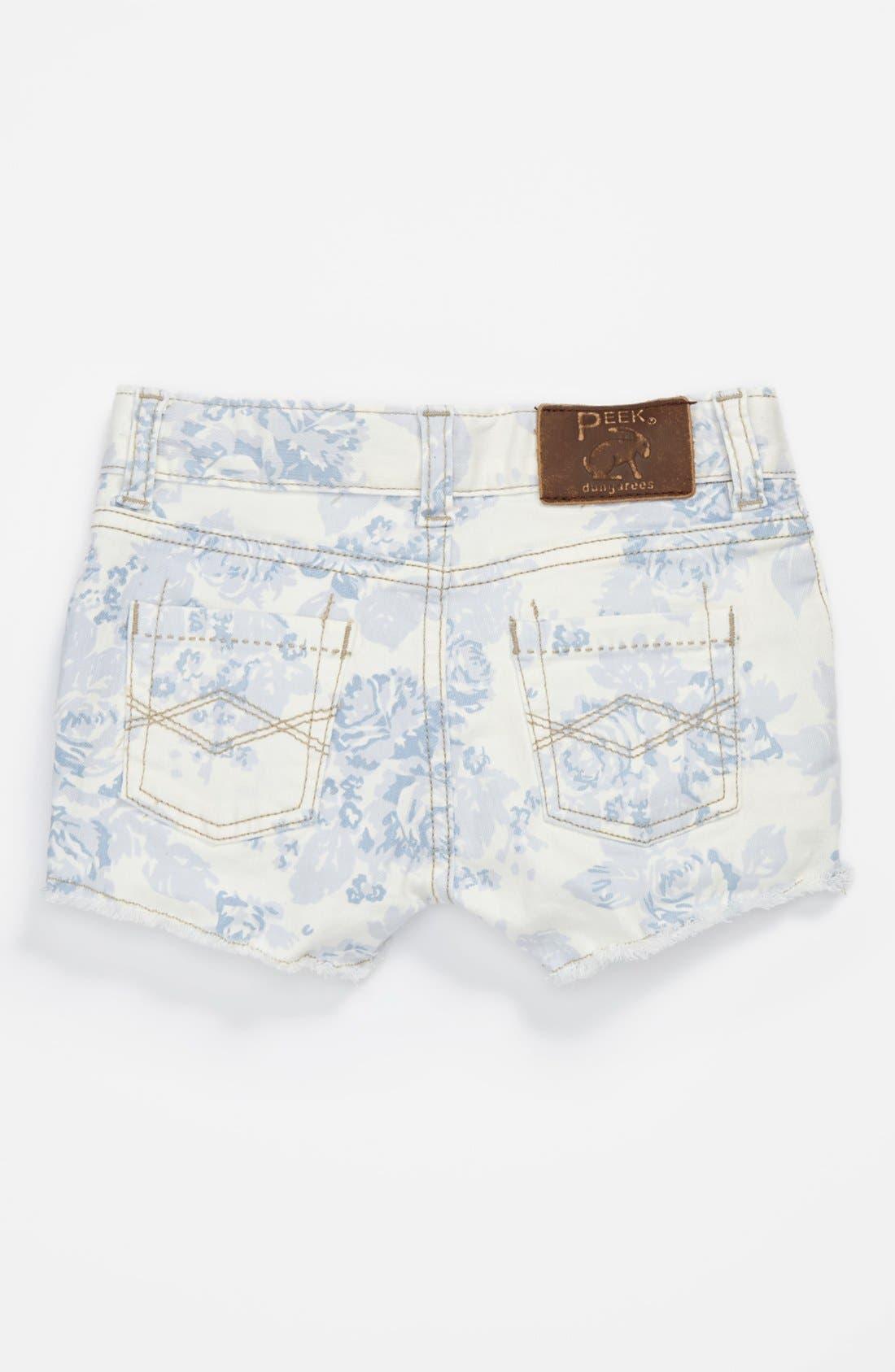 Main Image - Peek 'New Morgan' Denim Shorts (Big Girls)