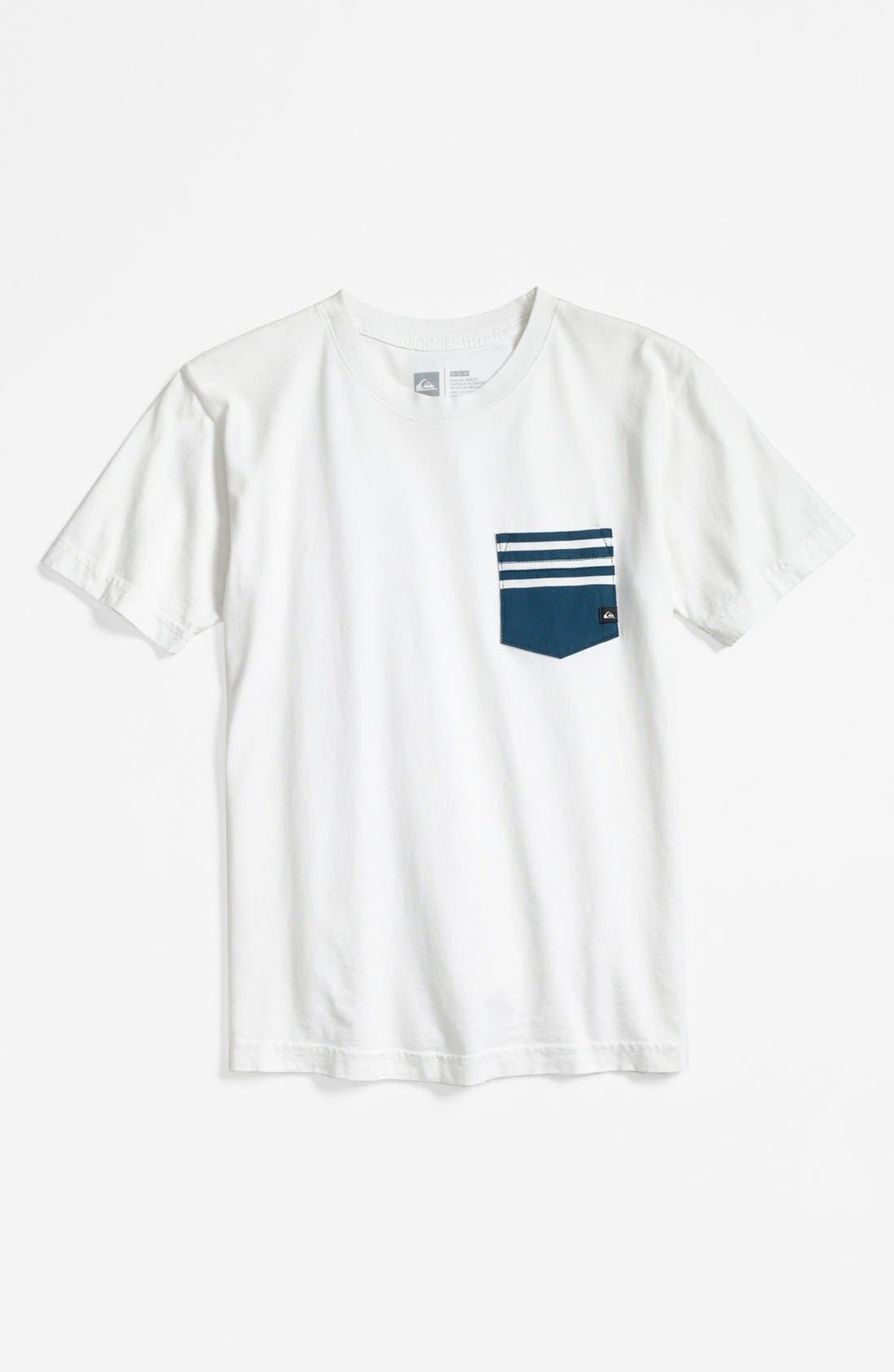 Alternate Image 1 Selected - Quiksilver Screenprinted T-Shirt (Big Boys)