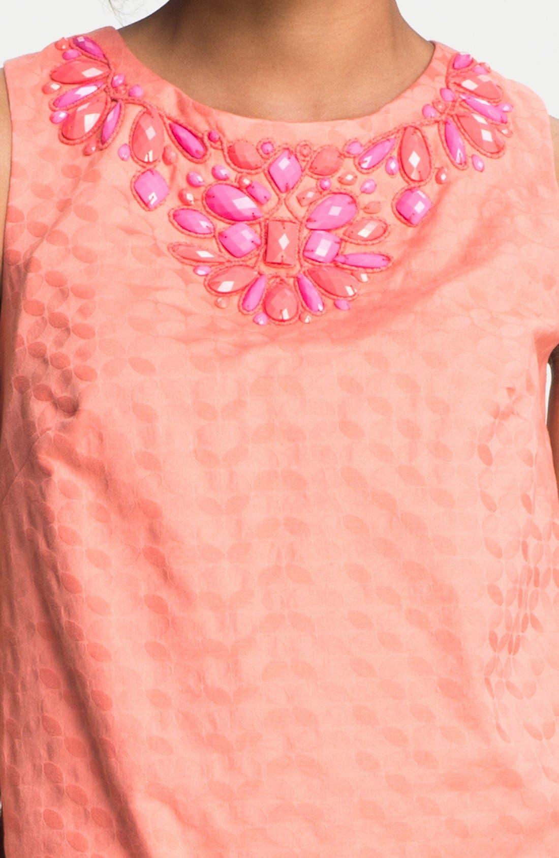Alternate Image 3  - Donna Morgan Embellished Shift Dress (Petite)