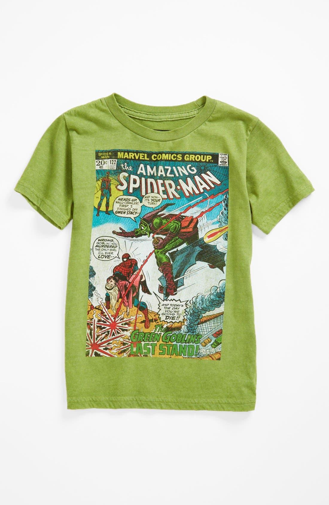 Alternate Image 2  - Jem 'Green Goblin' Thermocolor T-Shirt (Little Boys)