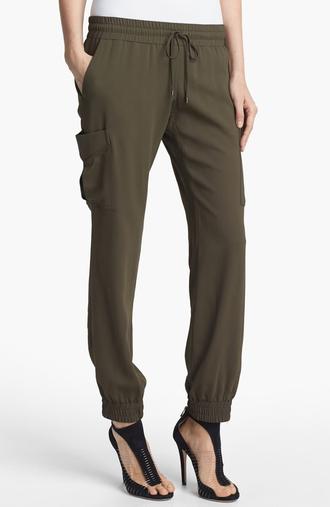 Alternate Image 1 Selected - Haute Hippie 'Keith' Draped Cargo Pants