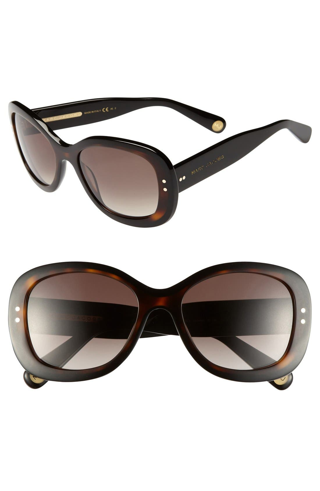 Main Image - MARC JACOBS 55mm Sunglasses