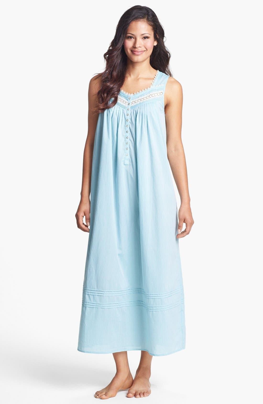 Main Image - Eileen West 'Ocean Mist' Nightgown
