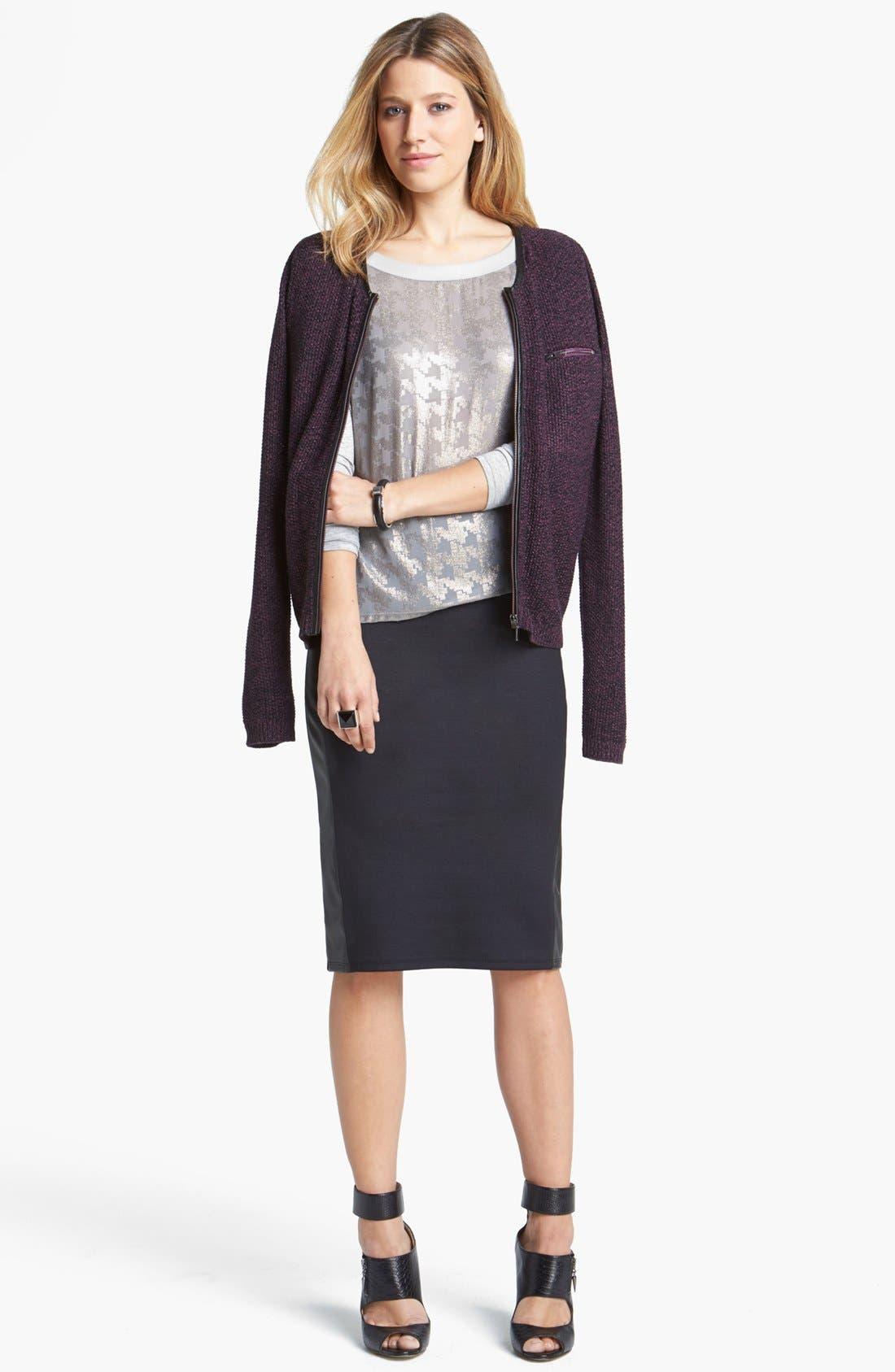Alternate Image 4  - Trouvé Pencil Skirt