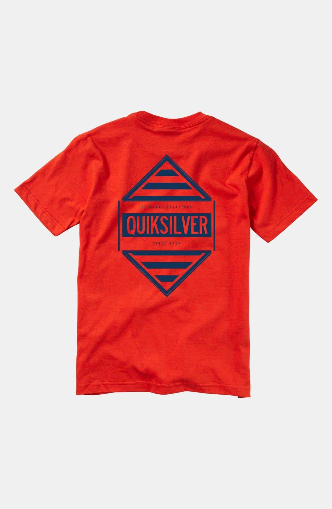 Alternate Image 2  - Quiksilver 'Answer' T-Shirt (Little Boys & Big Boys)