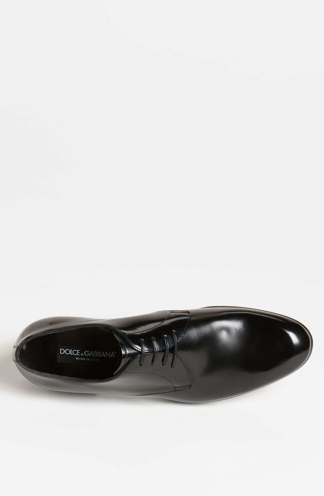 Alternate Image 3  - Dolce&Gabbana 'Napoli' Plain Toe Derby