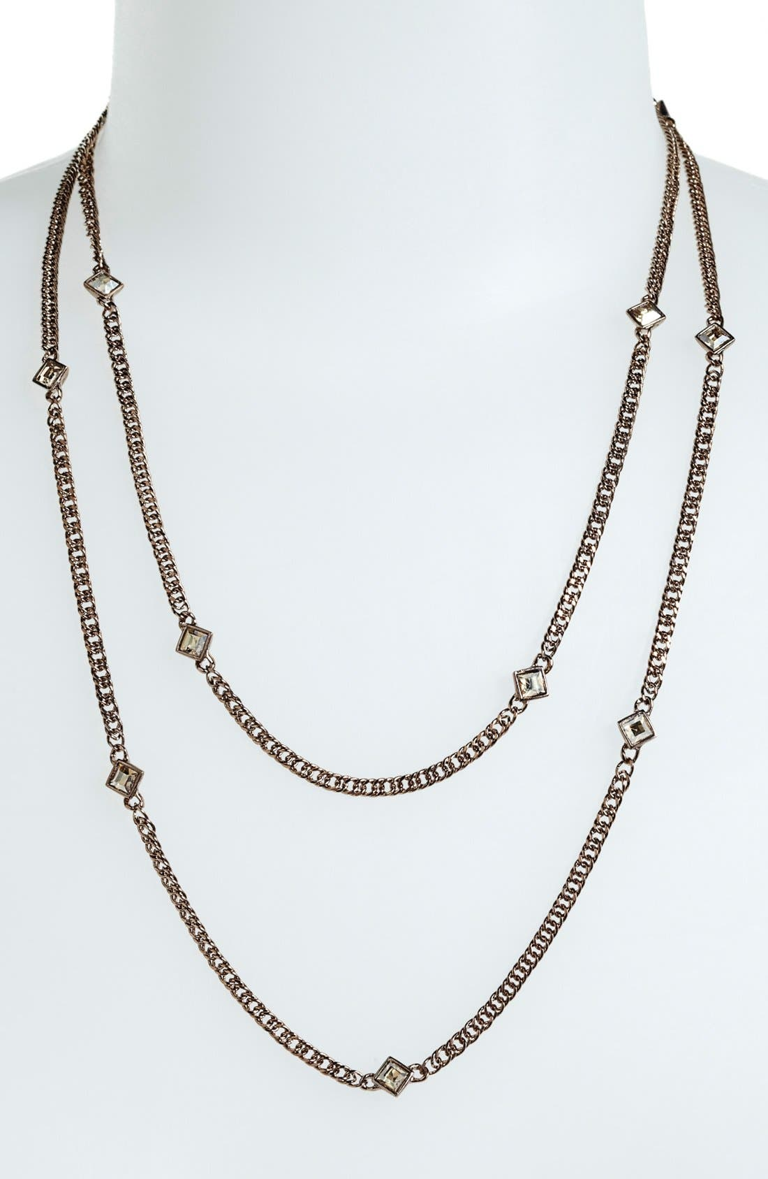 Alternate Image 2  - Givenchy Extra Long Station Necklace