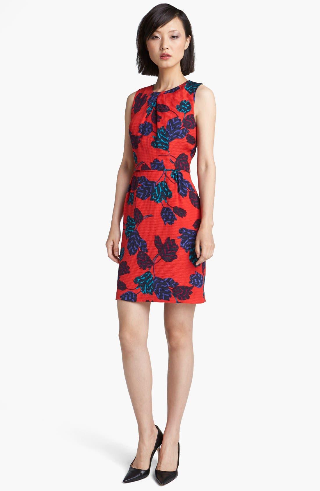 Alternate Image 1 Selected - MARC BY MARC JACOBS 'Mareika Tulip' Silk Sheath Dress
