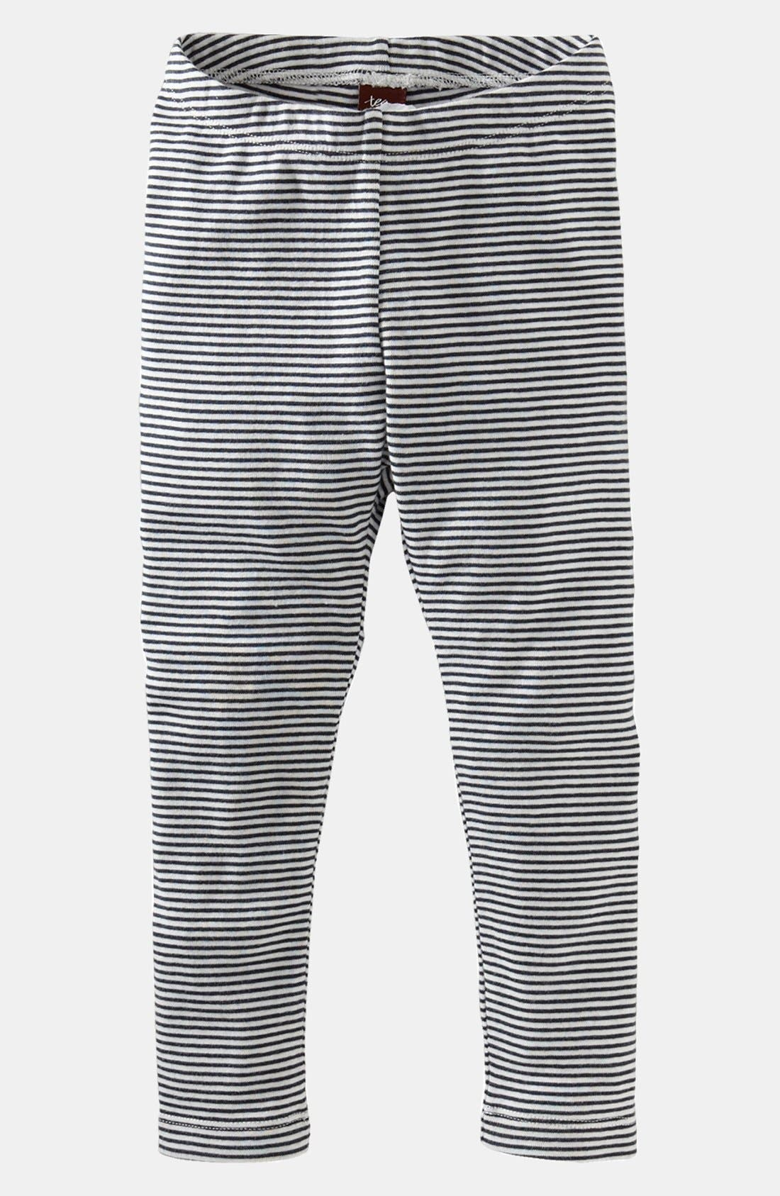 Main Image - Tea Collection Stripe Leggings (Toddler Girls)