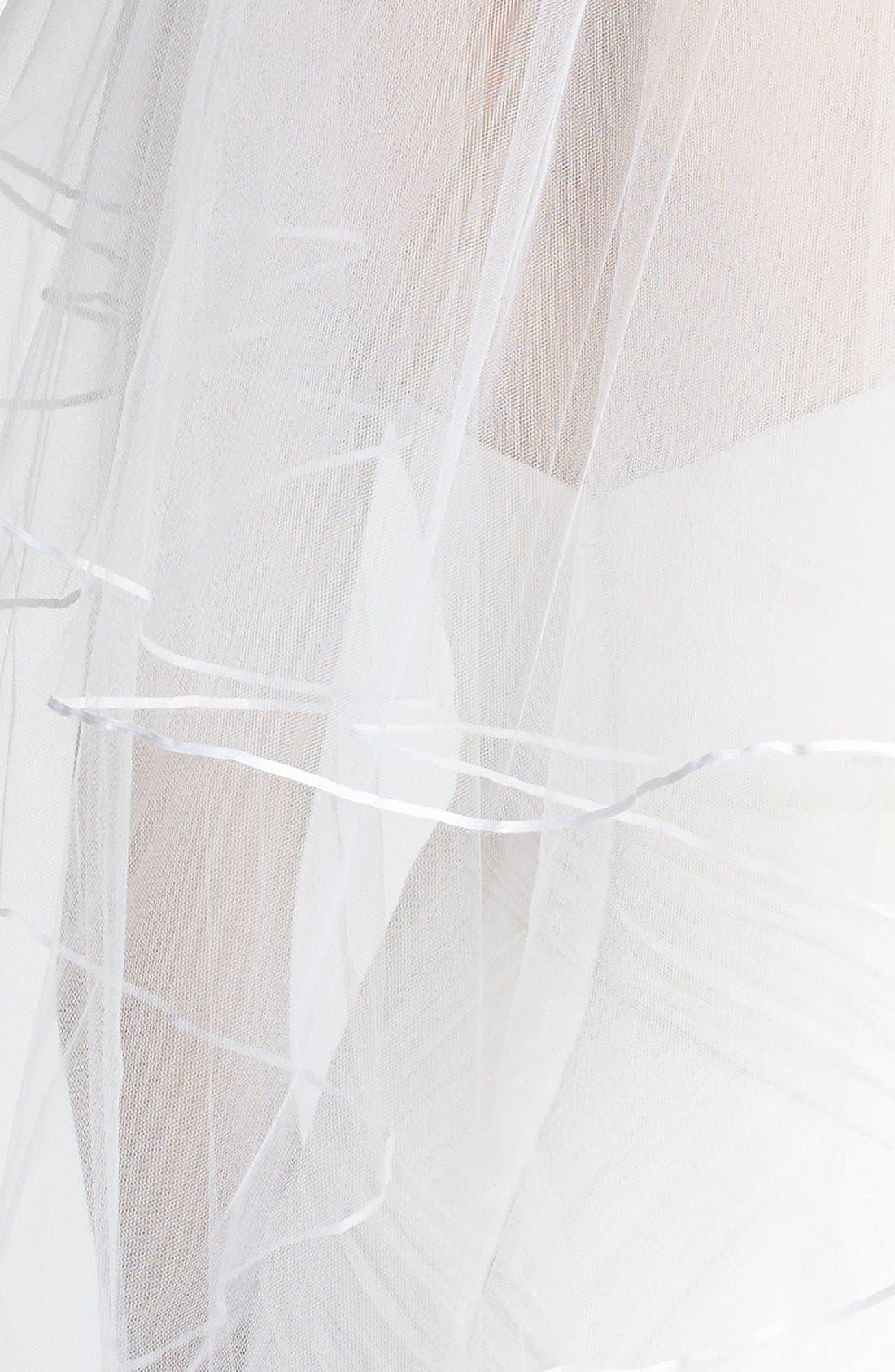 Alternate Image 2  - Nina 'Adrienne' Double Tier Veil