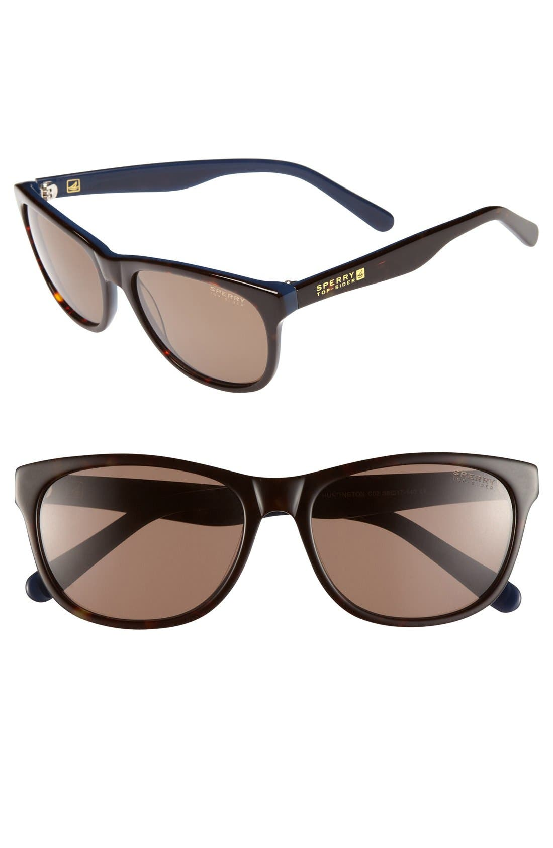 Alternate Image 1 Selected - Sperry Top-Sider® 'Huntington' 56mm Sunglasses (Online Only)