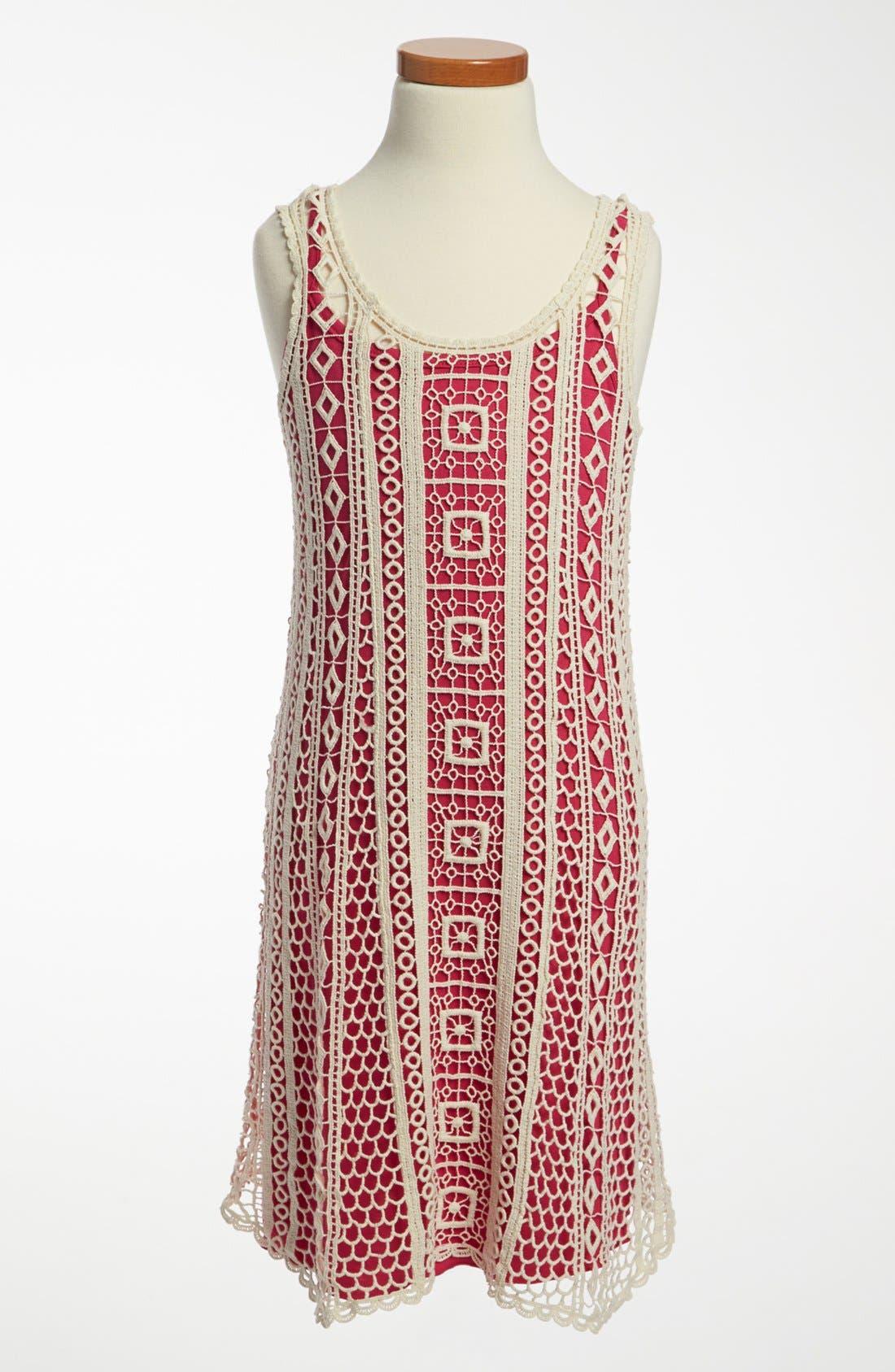 Main Image - Ella Moss 'Hailee' Dress (Big Girls)