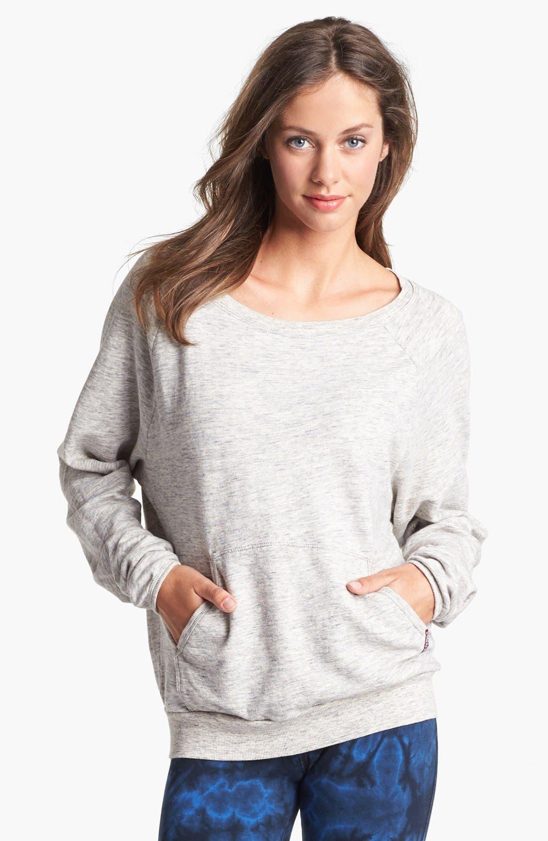 Alternate Image 1 Selected - Hard Tail Raglan Sleeve Sweatshirt (Online Only)