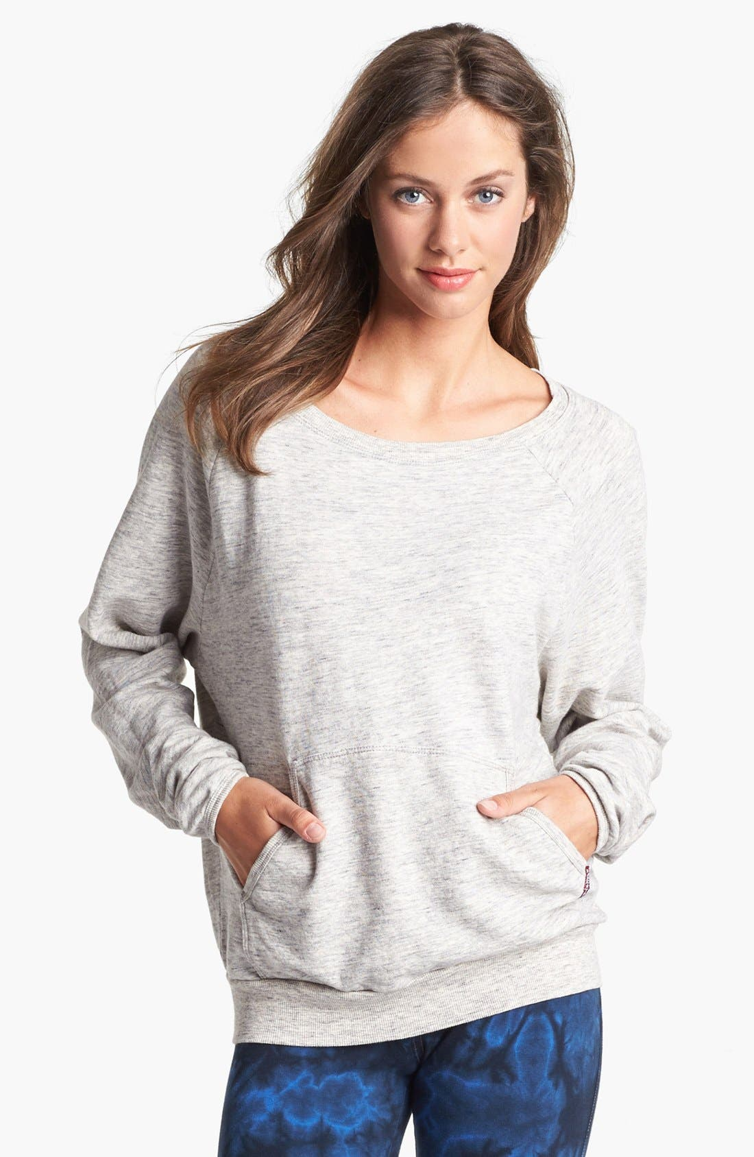 Main Image - Hard Tail Raglan Sleeve Sweatshirt (Online Only)