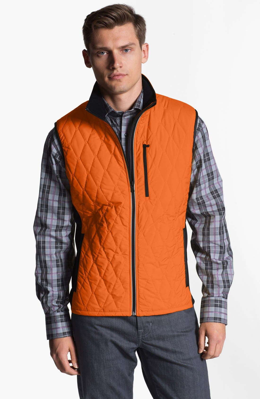 Alternate Image 1 Selected - Victorinox Swiss Army® 'Glares' Quilted Vest (Online Only)