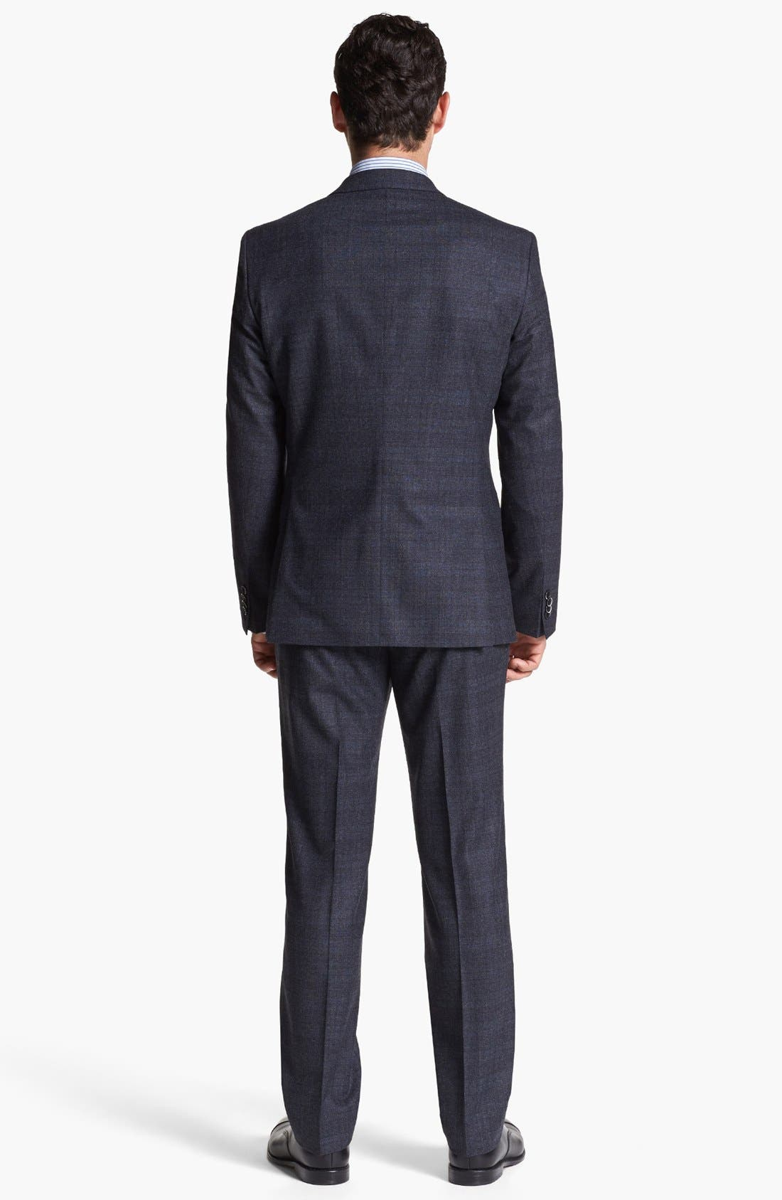 Alternate Image 3  - BOSS HUGO BOSS 'Hedge/Gense' Trim Fit Plaid Suit