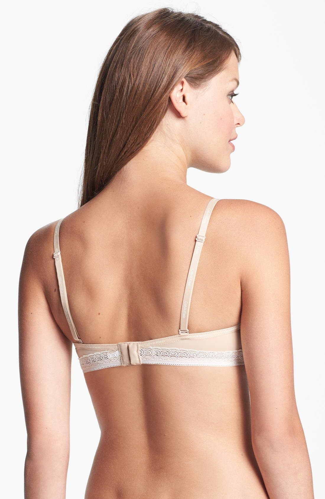 Alternate Image 3  - Calvin Klein 'Perfectly Fit' Convertible Bandeau Bra
