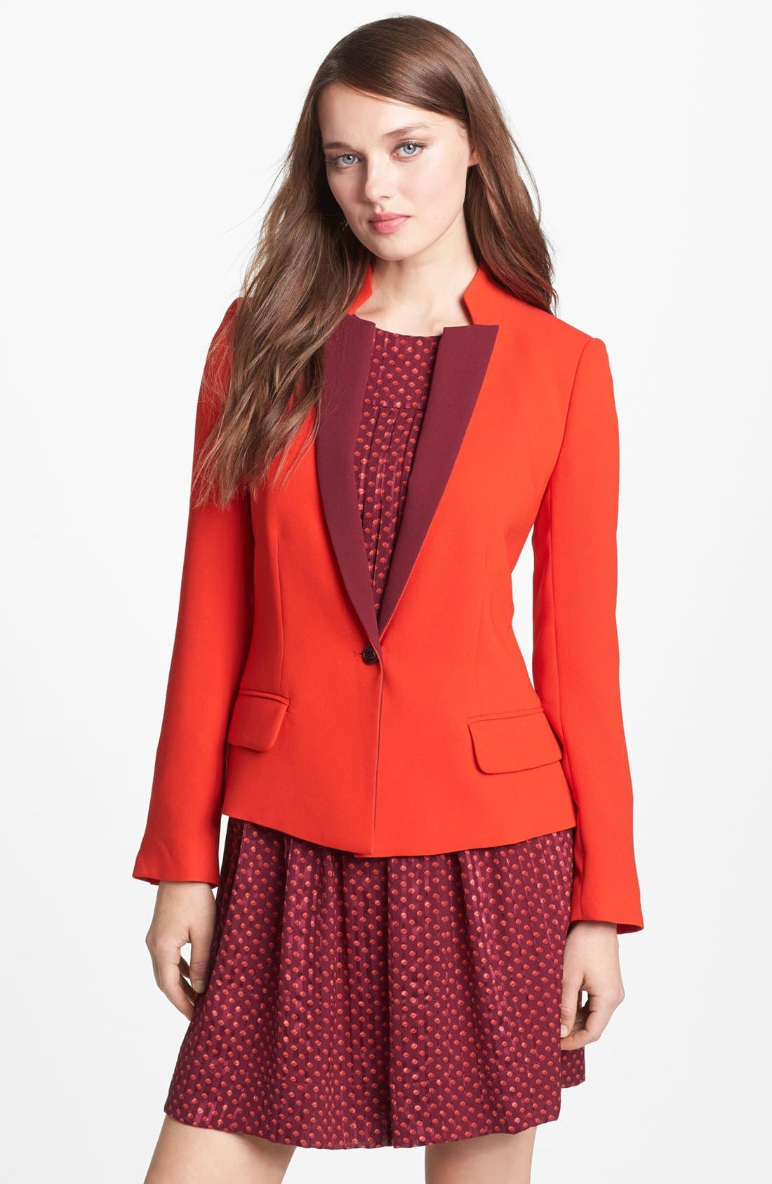 Main Image - MARC BY MARC JACOBS 'Sparks' Crepe Blazer