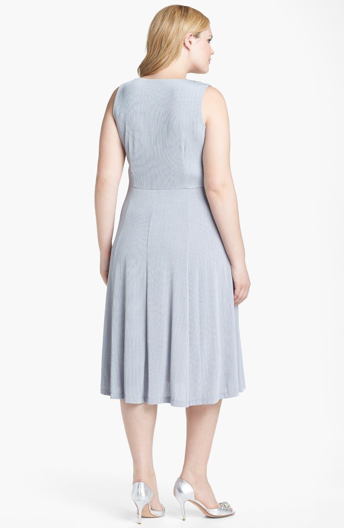 Alternate Image 2  - Jessica Howard Embellished Dress & Jacket (Plus Size)