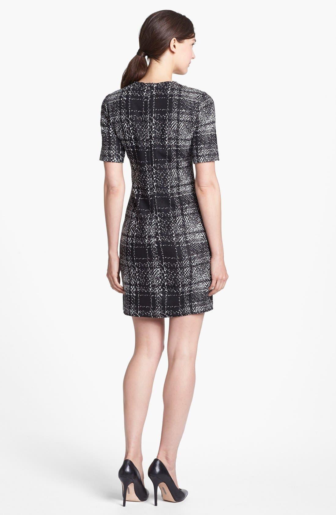 Alternate Image 2  - 4.collective Mixed Print Sheath Dress