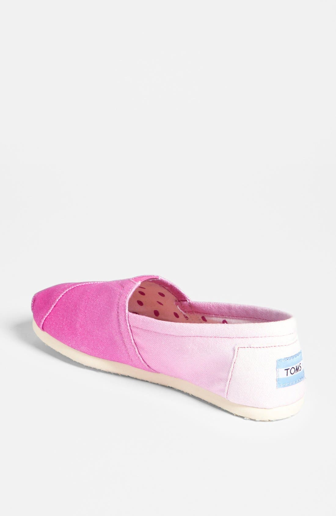 Alternate Image 2  - TOMS 'Classic - Pink Ombré' Slip-On (Women) (Exclusive Color)