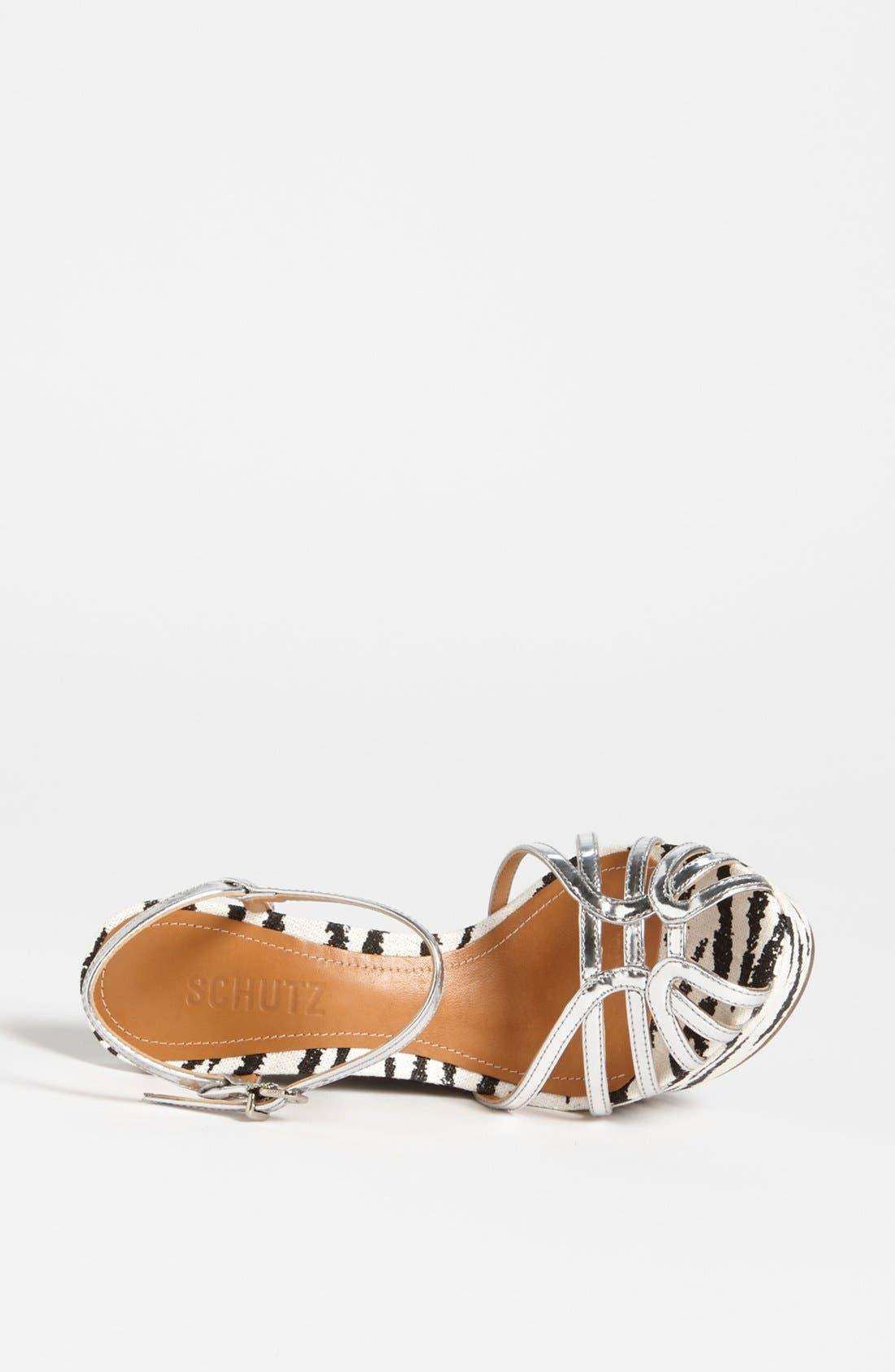 Alternate Image 3  - Schutz 'Gil' Wedge Sandal