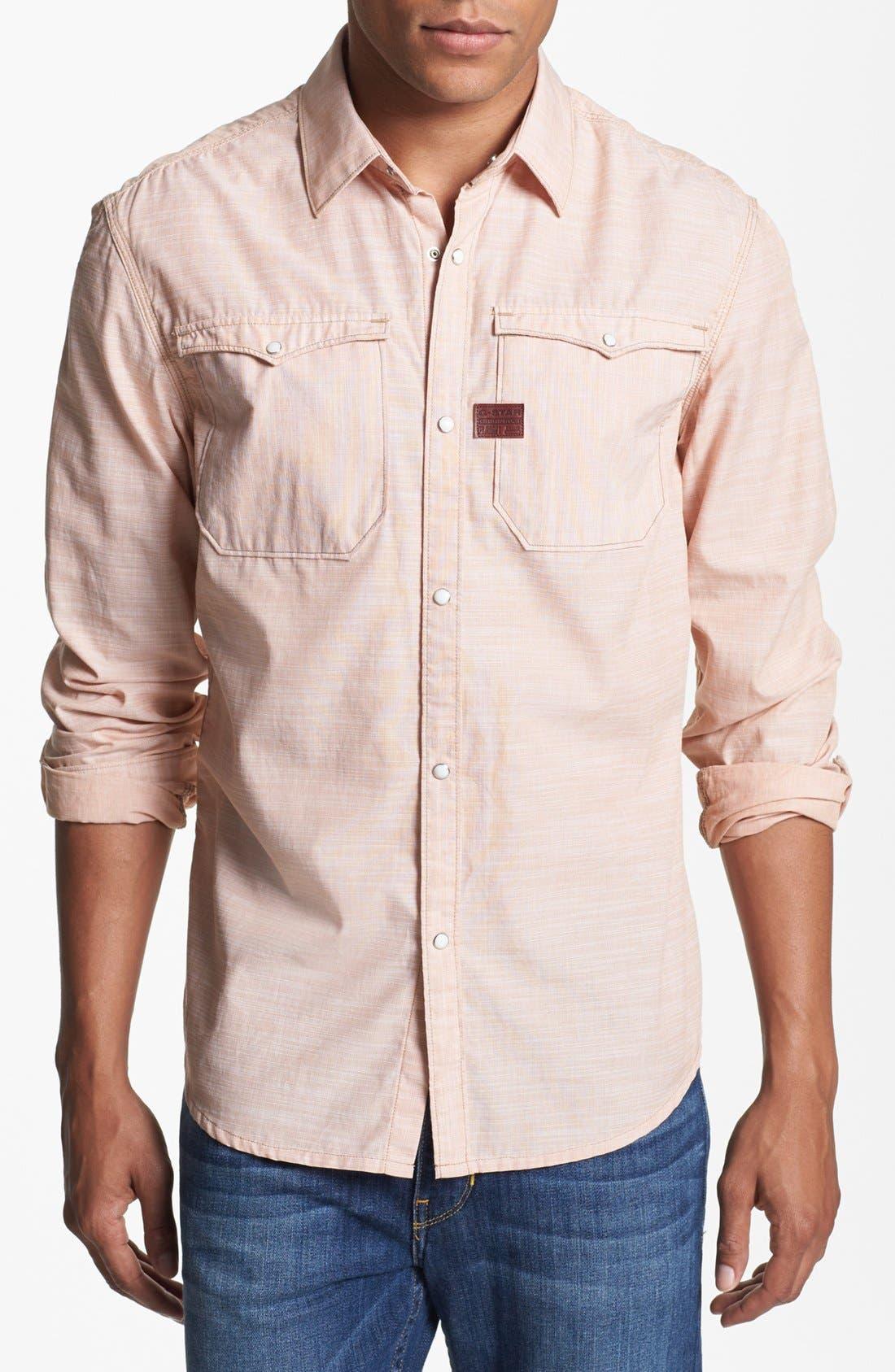 Alternate Image 1 Selected - G-Star Raw 'Hunter' Western Denim Shirt