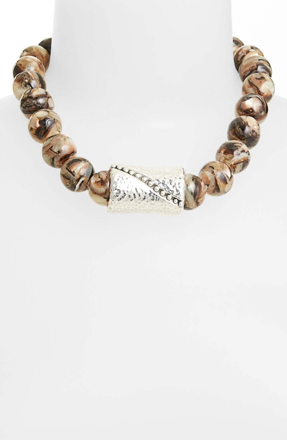 Alternate Image 1 Selected - Simon Sebbag Shell Necklace with Center Bead