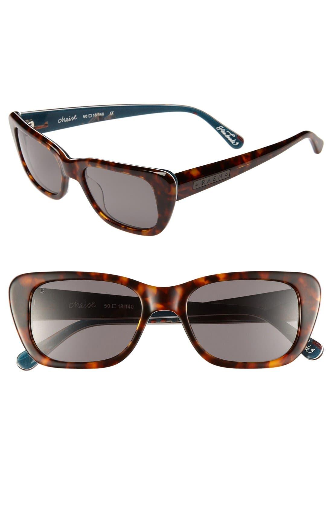 Alternate Image 1 Selected - RAEN 'Chaise' 50mm Sunglasses