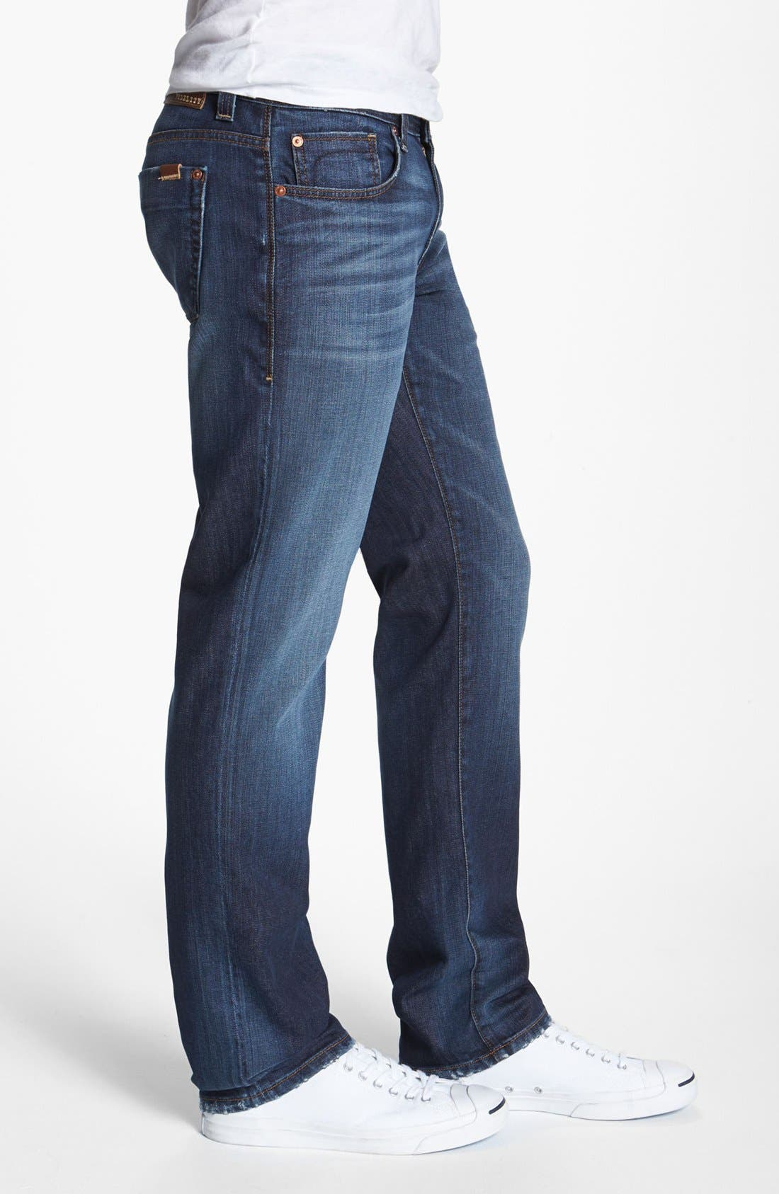Alternate Image 3  - Fidelity Denim 'Slim Jim' Slim Fit Jeans (Windsor Blue)