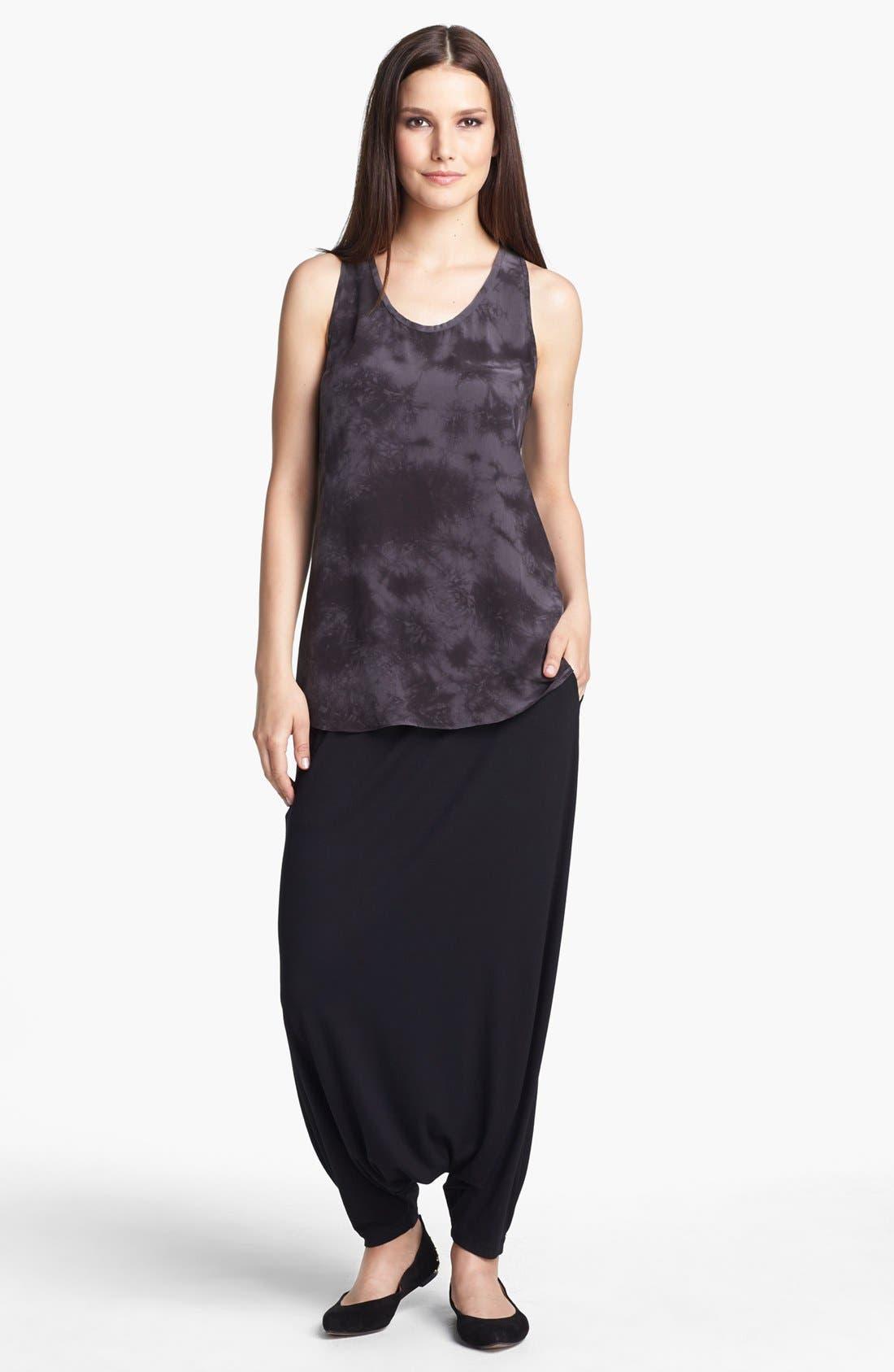 Alternate Image 3  - Eileen Fisher U-Neck Shibori Silk Tank