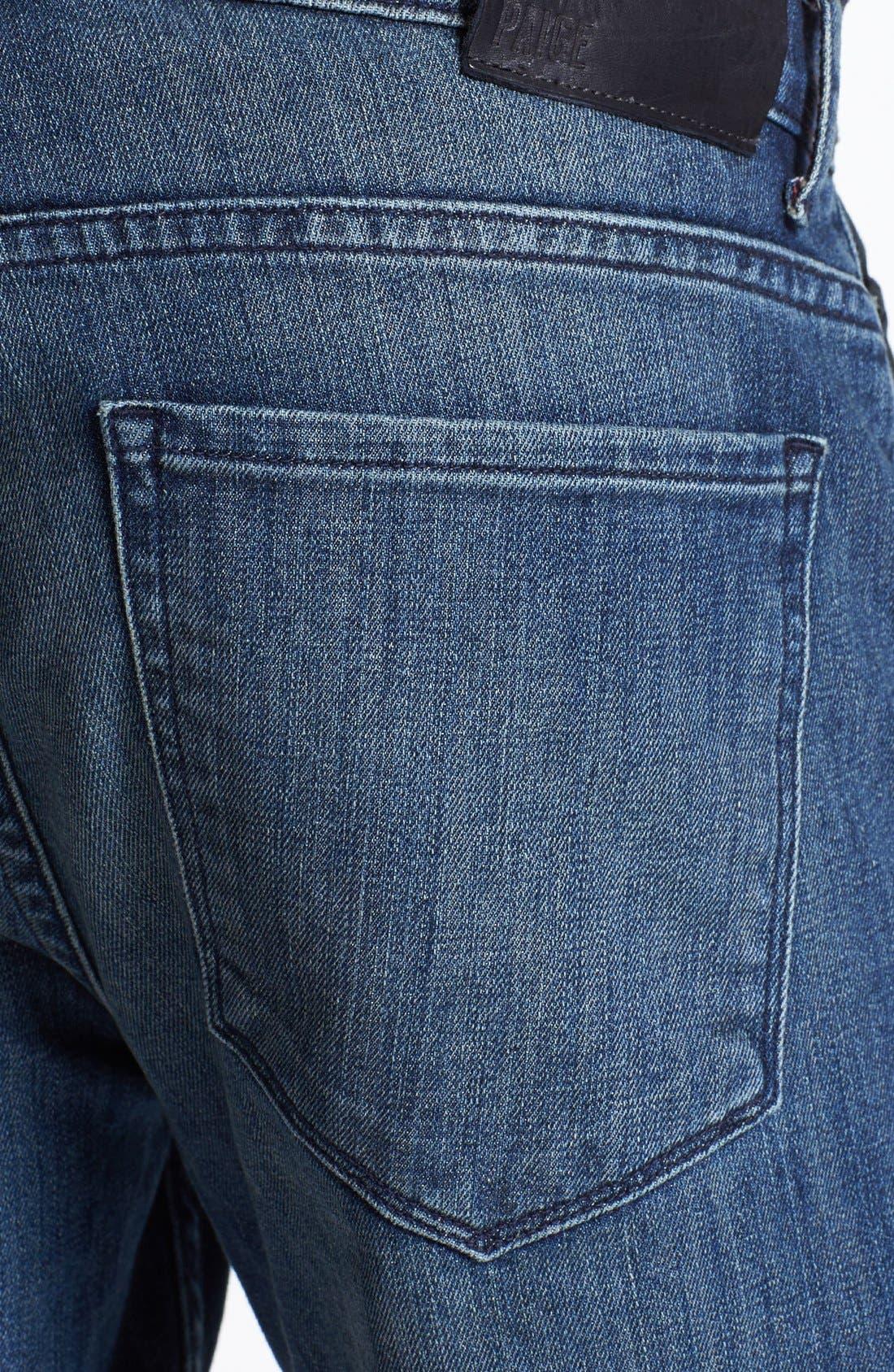 Alternate Image 4  - Paige 'Doheny' Straight Leg Jeans (Winston)