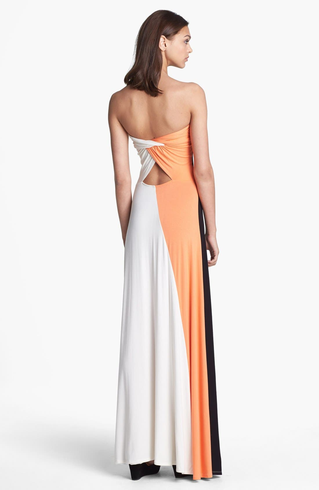Alternate Image 2  - Felicity & Coco 'Aimery' Colorblock Jersey Maxi Dress (Nordstrom Exclusive)