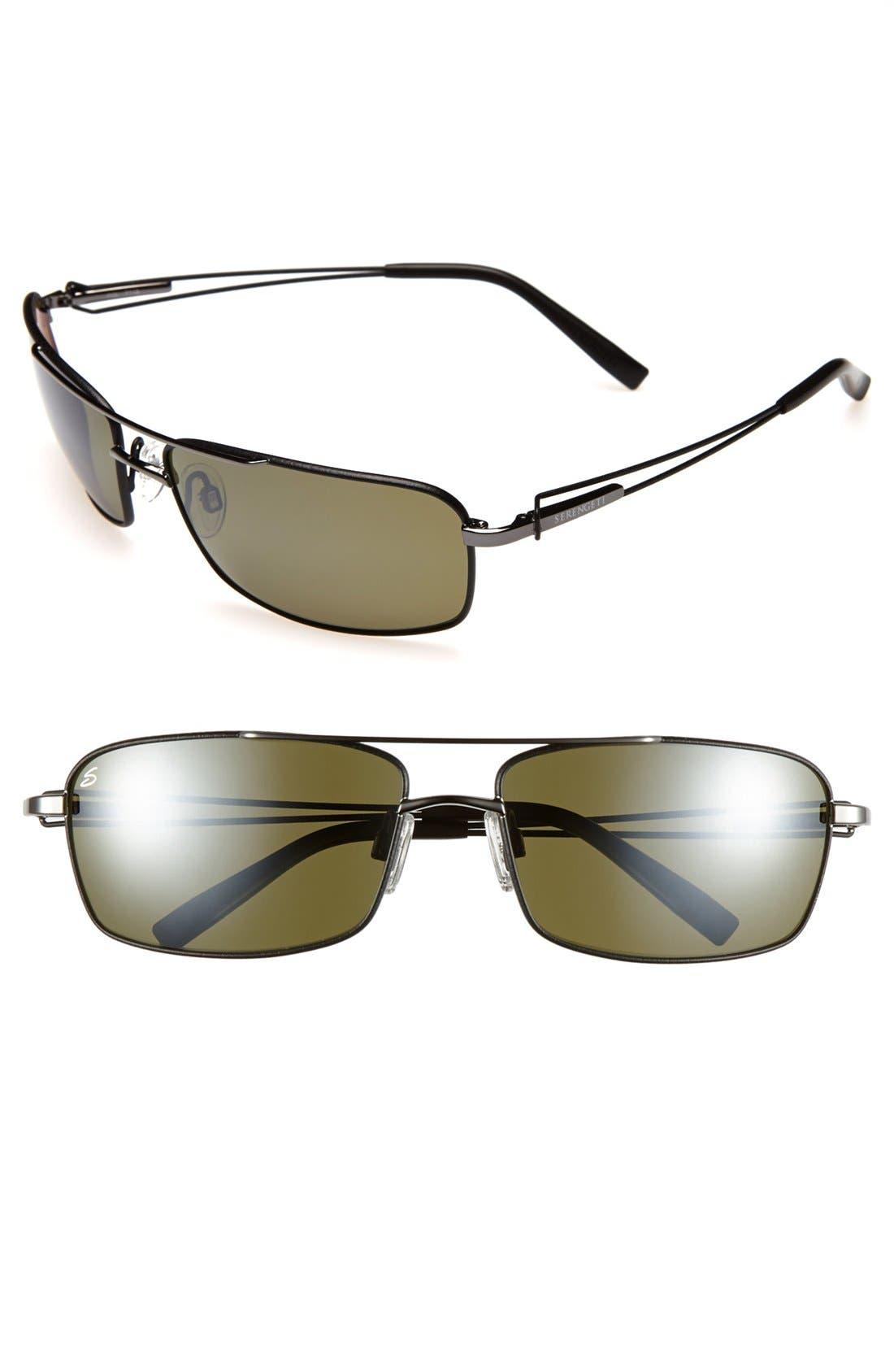 Alternate Image 1 Selected - Serengeti 'Dante' 62mm Polarized Sunglasses