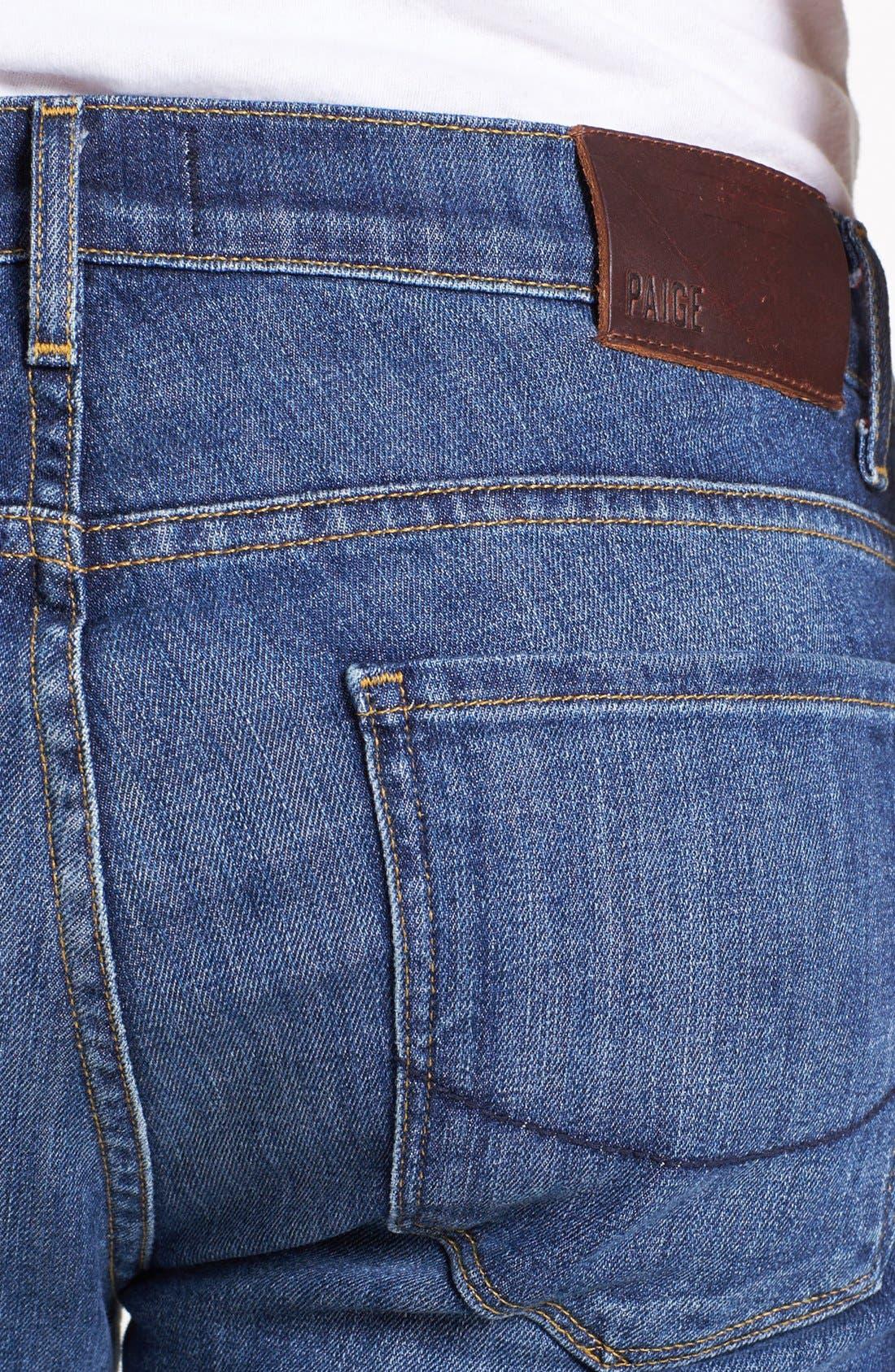 Alternate Image 4  - PAIGE 'Normandie' Slim Fit Jeans (Current)