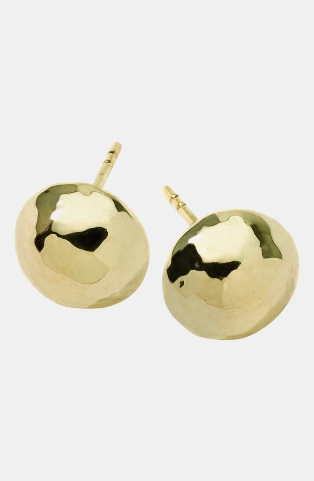 Alternate Image 1 Selected - Ippolita 'Glamazon' 18k Gold Hammered Ball Earrings