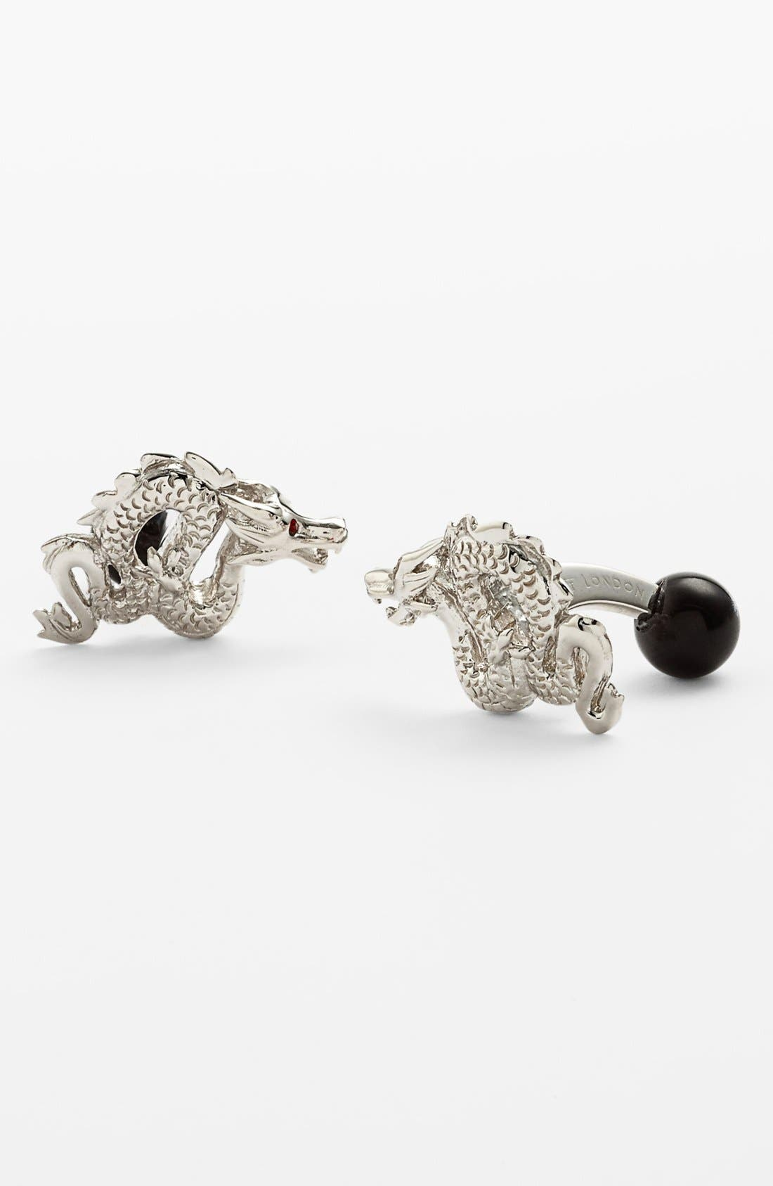 Alternate Image 1 Selected - Tateossian 'Dragon' Cuff Links