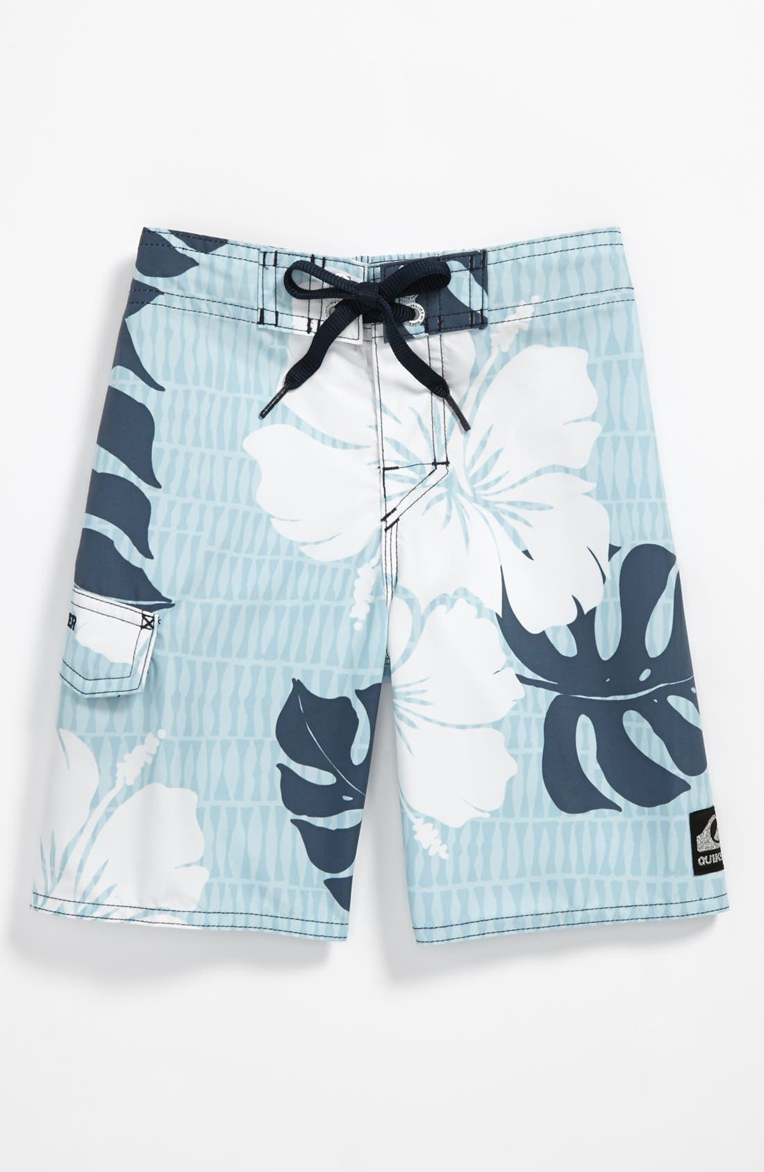 Alternate Image 1 Selected - Quiksilver 'Betta' Board Shorts (Toddler)
