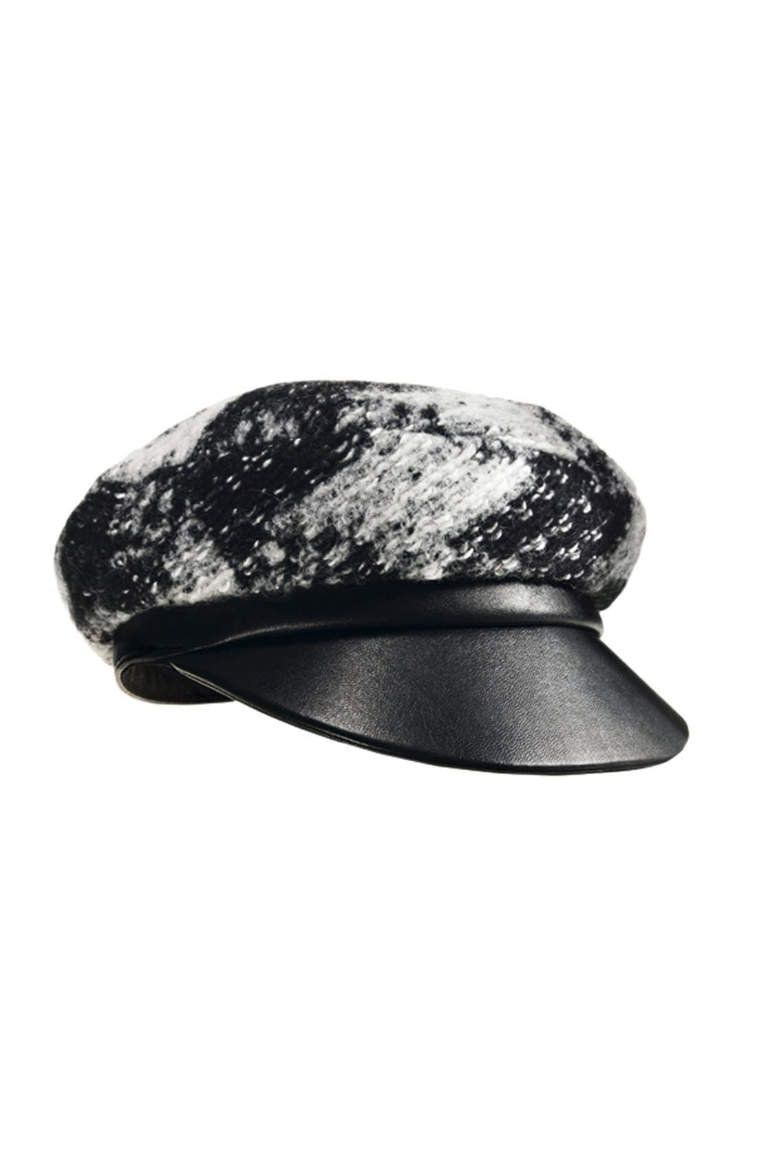 Alternate Image 3  - Tarnish Bouclé Newsboy Cap