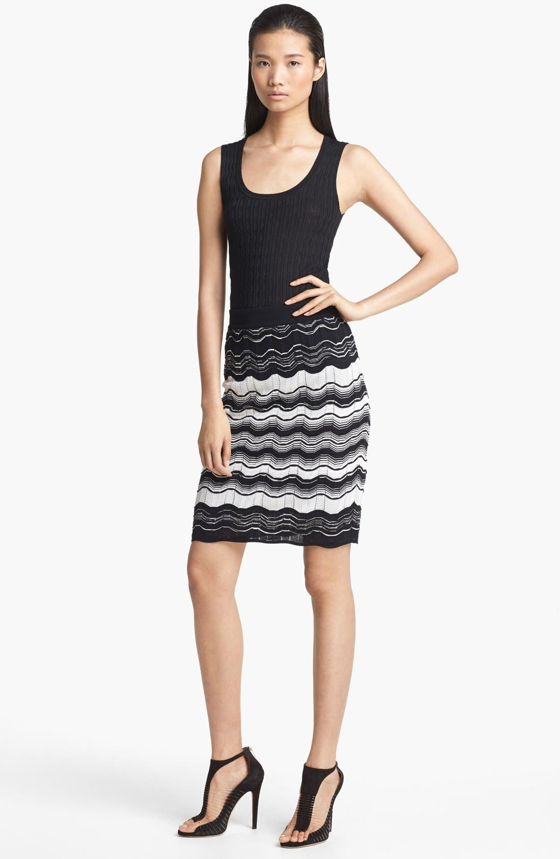 Alternate Image 4  - M Missoni Tonal Zigzag Stitch Tank