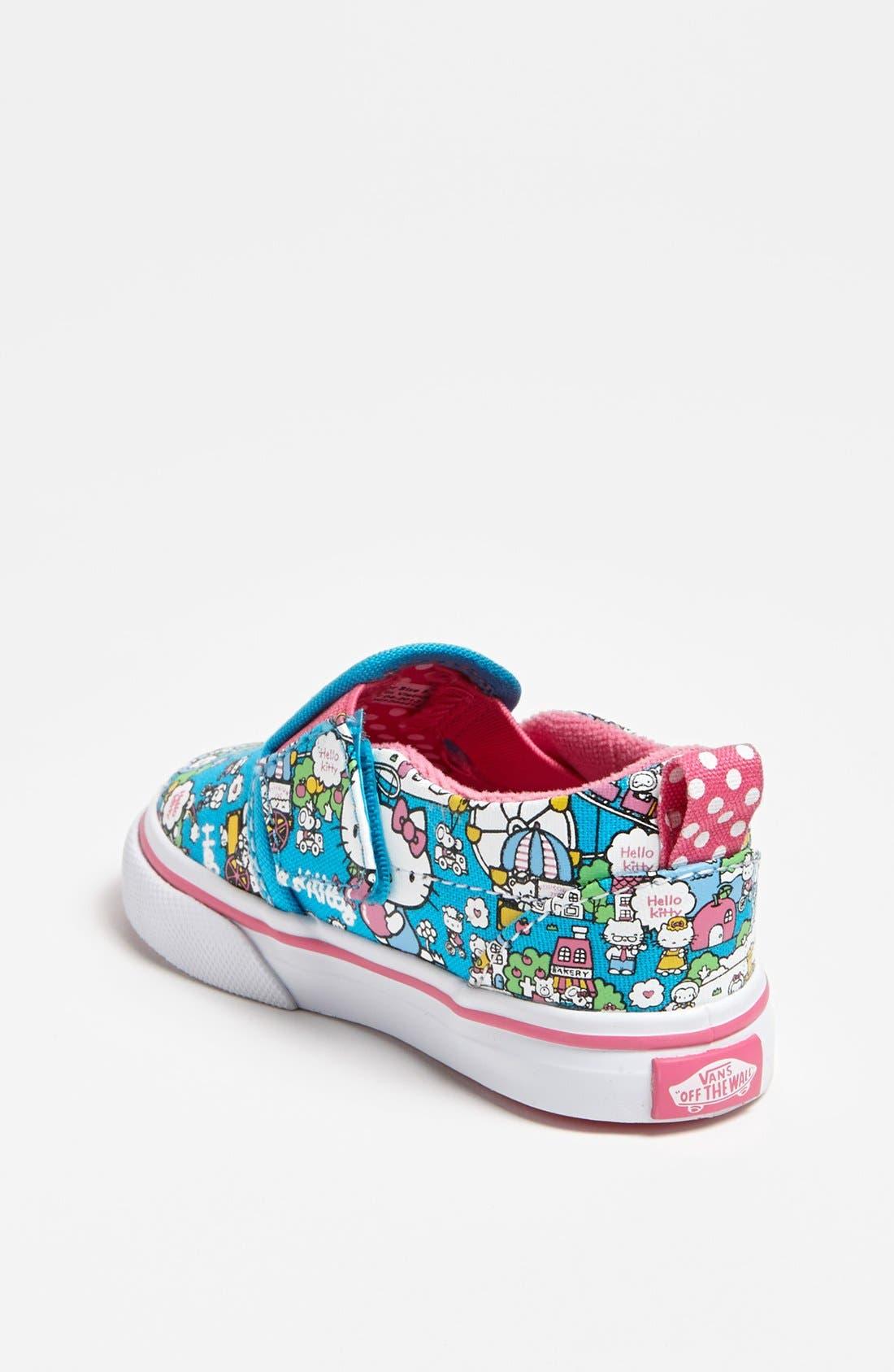 Alternate Image 2  - Vans 'Classic - Hello Kitty®' Slip-On (Baby, Walker & Toddler)