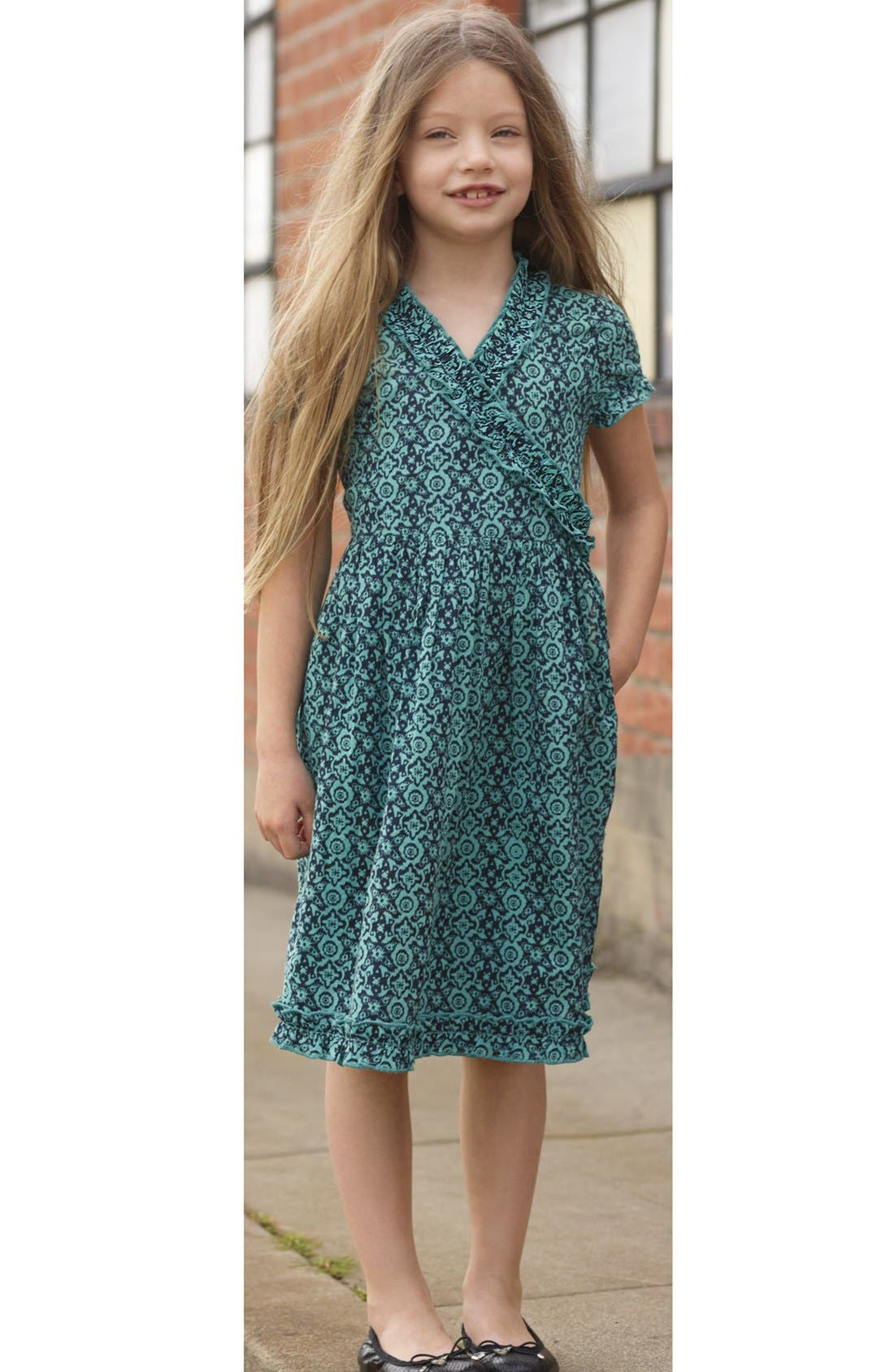 Alternate Image 2  - Peek 'Cristina' Wrap Dress (Toddler Girls, Little Girls & Big Girls)
